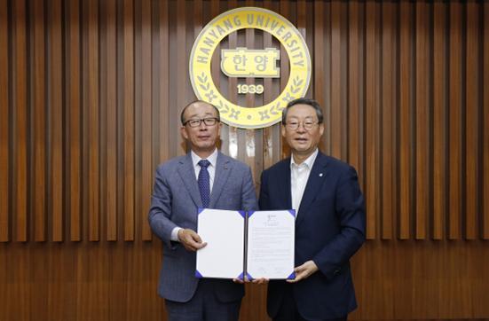LIG넥스원-한양대, 국방·해양산업 핵심기술 개발 협약